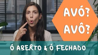 How to pronounce the open O and closed O in Portuguese