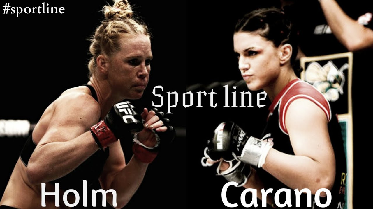 Holly Holm vs Gina Carano ll Confident! - YouTube