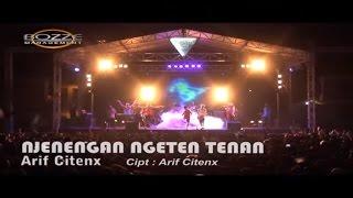 Arif Citenx - Njenengan Ngeten Tenan [ Official Karaoke Music Video Live Bali ]