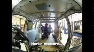 Install Pop Top Elevating Roof VW T5 - Base Campers