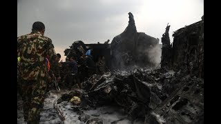 US-Bangla aircraft crash at Tribhuvan International Airport Kathmandu Nepal