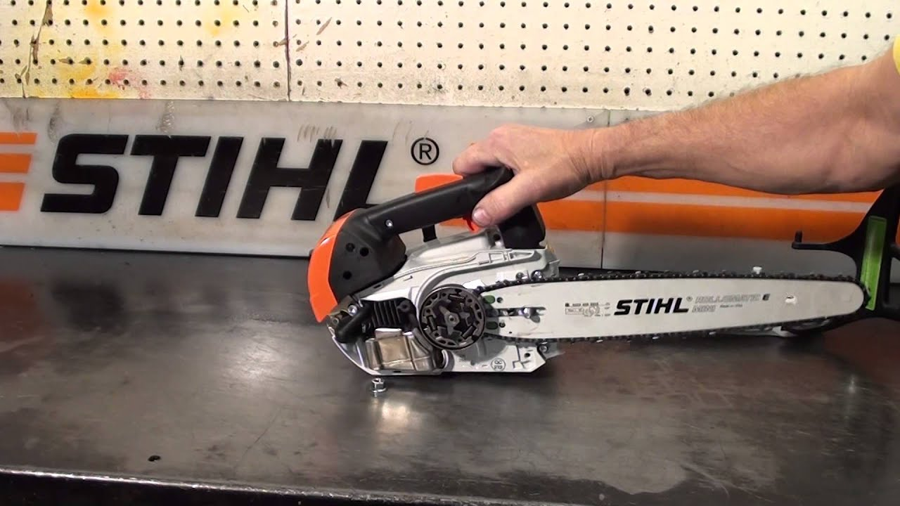 The chainsaw guy shop talk new stihl ms 150 tc chainsaw youtube greentooth Choice Image