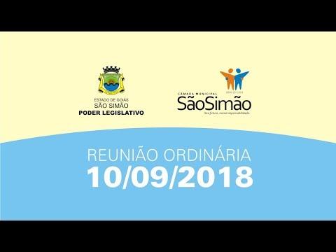 REUNIAO ORDINARIA 10/09/2018