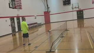 Clark Johnson - Pickleball,  Yellow Long Sleeve