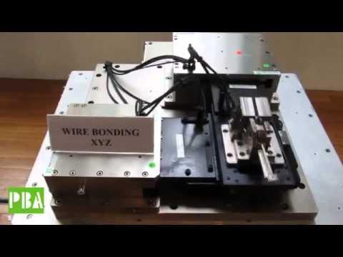 Carbon Composite Wire Bonder Motion Control Products   PBA Systems Singapore
