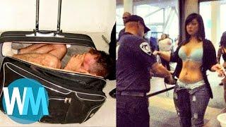 Top 10 des TRUCS FOUS trouvés par la SÉCURITÉ des aéroports ! streaming