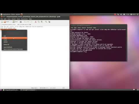 Howto: Install an RPM Package in Ubuntu