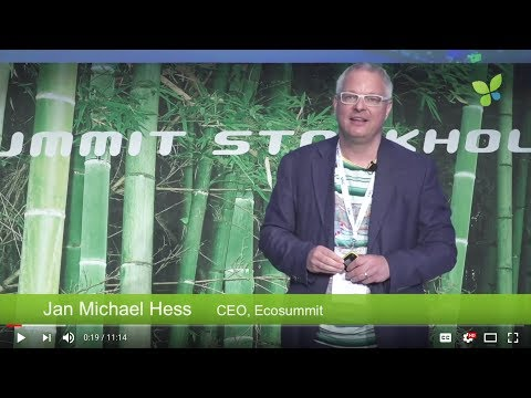 ECO17 Stockholm: Jan Michael Hess Ecosummit