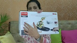 Prestige Omega Deluxe Granite Non Stick Fry Pan and Tawa Best Nonstick Cookware- Review amp Unboxing