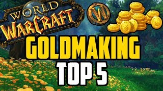 Top 5 Ways to Farm Gold in WoW