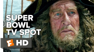 Pirates of the Caribbean: Dead Men Tell No Tales Ext. Superbowl TV Spot (2017) | Movieclips Trailers