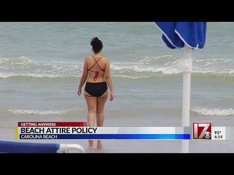 Chase Matthews - NC Beach Allows Visitors To Show Their Buttocks