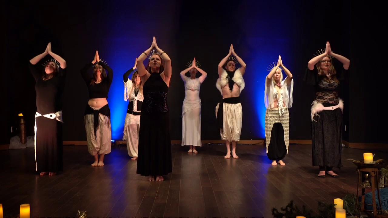 Tanya Lee Body Art Motion Closing Circle Dance Bam Fusion Class Youtube