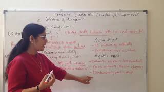 Authority and Responsibility - Principle of Management Chapter 2 Business Studies