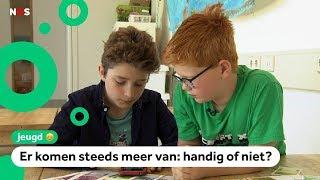 Kinderen testen zakgeld-apps