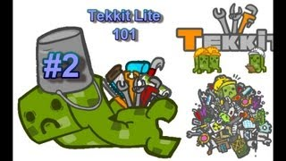 Tekkit Lite 101 - #2 - Extractor, Macerator, Electric Furnace