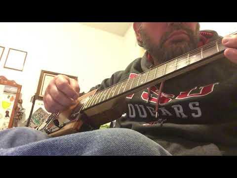 Clean acoustic test of red cedar box guitar