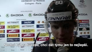 Julius Honka po semifinále Švédsko - Finsko 4:1