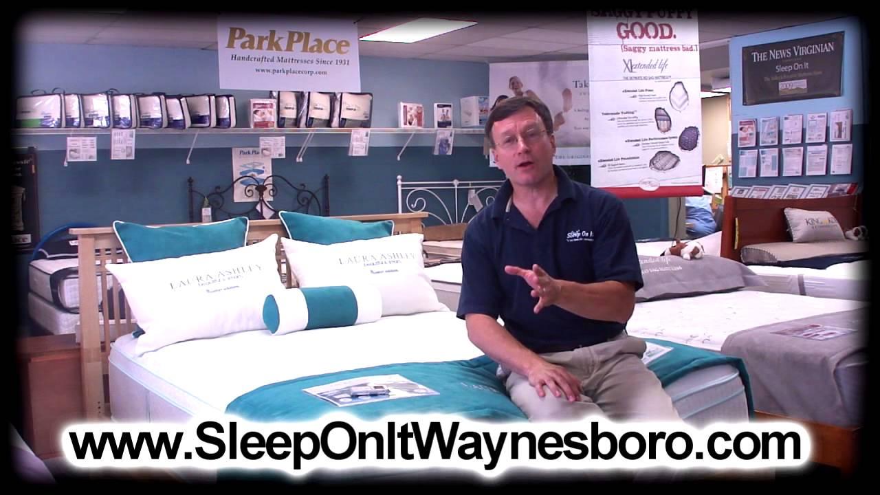 3 Guarantees Mattress Store Sleep On It Waynesboro Va 22980 Youtube