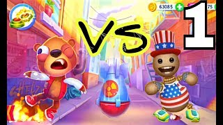 Kick the Buddy VS  Despicable Bear. Gameplay Walkthrough Part 1- All Stuff . Explosives  (iOS)