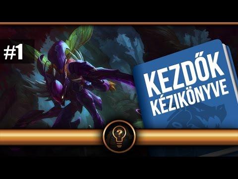 """Kha'zix - """"Kezdők Kézikönyve"""" - Hős bemutatás magyarul"""