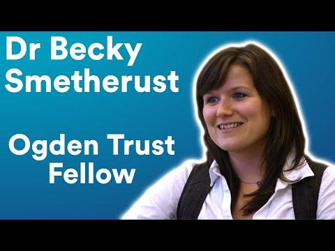 Dr Becky Smethurst - Sixty Symbols Ogden Research Fellow