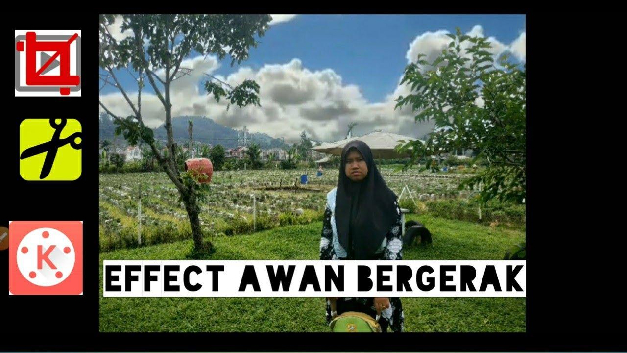 CARA EDIT FOTO DENGAN AWAN BERGERAK - YouTube