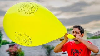 We Try Monster Balloon - Super Big Size Balloon Create