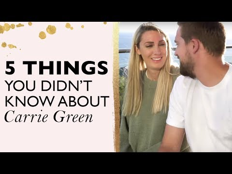 5 THINGS YOU DIDN'T KNOW ABOUT CARRIE GREEN | Do ghosts really exist? All things woo woo !