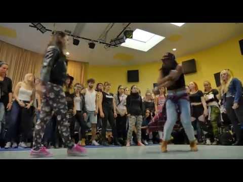 TopUp Dancehall Battle 2015 | FINAL 1vs1 | Kasia Jukowska vs  Evee Smile