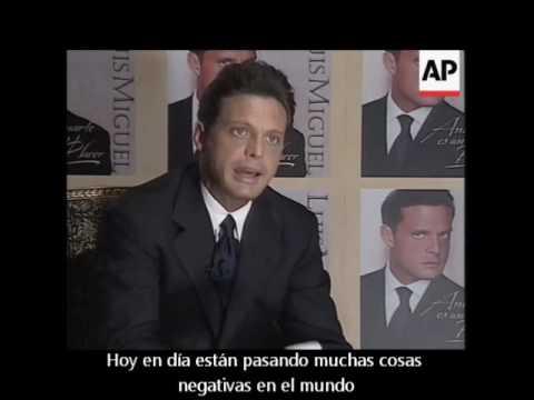 Luis Miguel - Interview (1999) {Subtítulos en español}