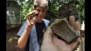 EXPLODED cannon balls found metal detecting with Nuggetnoggin and Depths of History! (unbelievable)