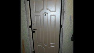 как сделать откосы из панелей на входную дверь своими руками