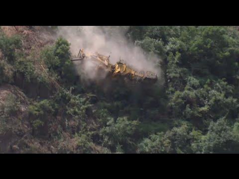 7 Still Missing Ten Days on in Southwest China's Landslide