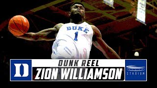 Zion Williamson Dunks: Every Slam From the First Half of Duke