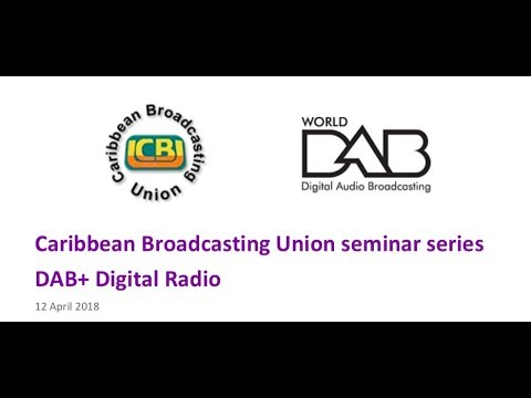 WorldDAB and CBU webinar - how DAB+ can secure the future of radio