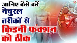 कौन से नेचुरल तरीकों का इस्तेमाल करके किडनी फंक्शन को ठीक करे !! Overcome Kidney Problem