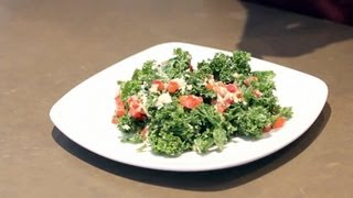 How To Make A Kale Salad | Raw Food Diet