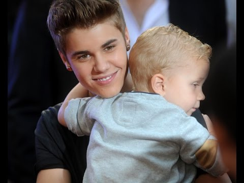 Justin Bieber And His Little Brother Jaxon | Funny, Best & Cute Moments 2011 - 2014