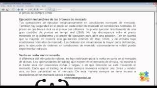 Curso de Forex - 13 de 99 - Forex versus Acciones