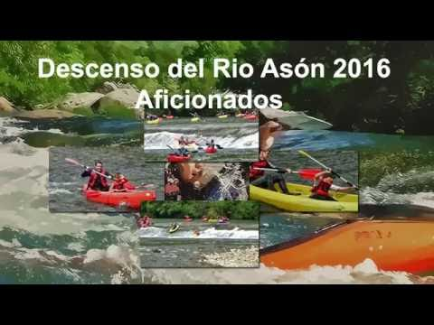 Aficionados descenso rio Asón 2016 Ampuero