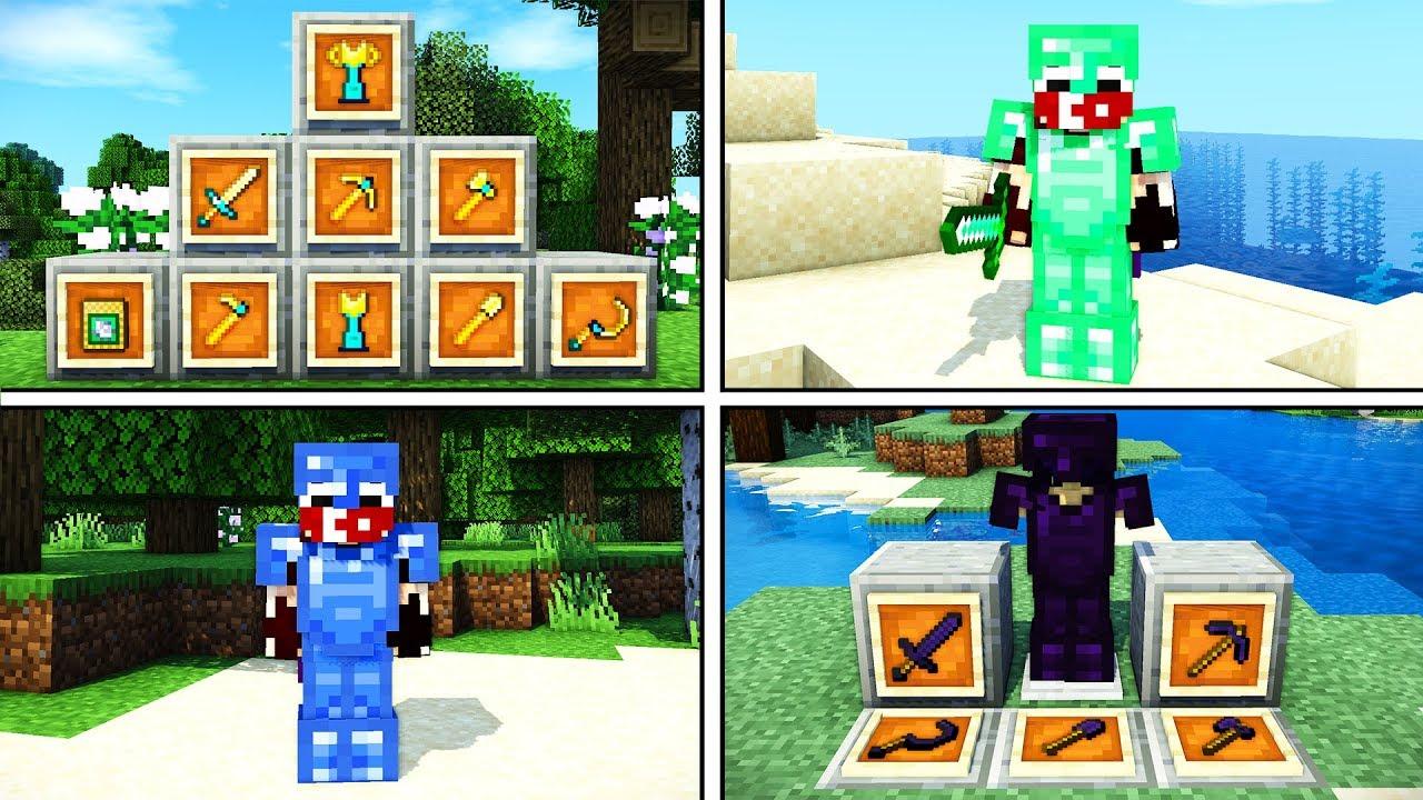 MİNECRAFT'TA EKLEMENİZ GEREKEN SÜPER EŞYA MODU ! - Minecraft