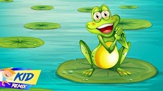 Chú Ếch Con (Kid Frog) Remix   LK Nhạc Thiếu Nhi Remix Vui Nhộn Dành Cho Bé Nhỏ