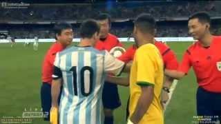 Brazil vs Argentina 2-0 All Goals & Highlights 11.10.2014 Brasil 2x0 Argentina