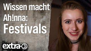 Wissen macht Ah!nna – Festivals