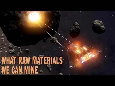 Elite:Dangerous. What Raw Materials We Can Mine From Asteroids