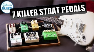 7 KILLER Overdrive Pedals You Might Not Know for a Fender Stratocaster