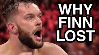 REAL REASONS Why Finn Balor Lost The WWE Intercontinental Championship On WWE Raw