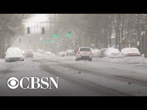 Multiple states declare emergencies as an arctic blast brings historic winter weather