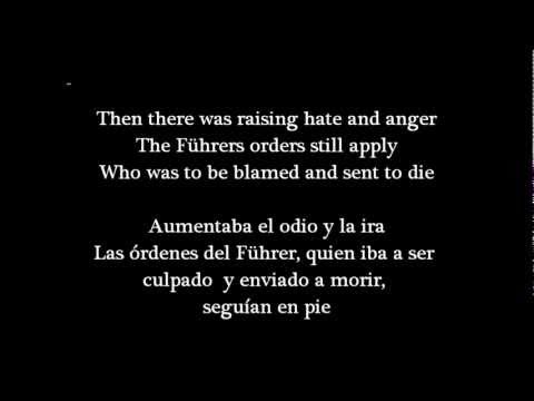 Sabaton ~ The Final Solution [English Lyrics and Spanish Subs.]